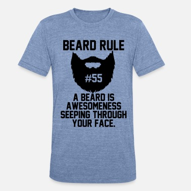 Beard Rules Beard Rules - Unisex Tri-Blend T-Shirt