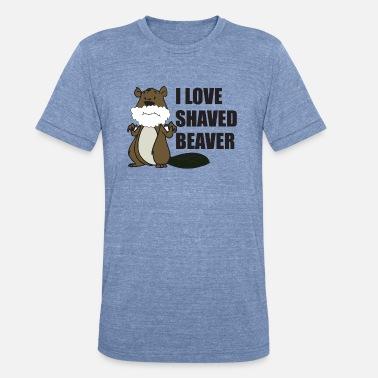 "/""I LOVE A SHAVED BEAVER/"" HUGE 3/"" PINBACK BUTTONS."
