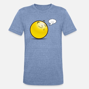 Be Huffy Huffy Smiley - Unisex Tri-Blend T-Shirt