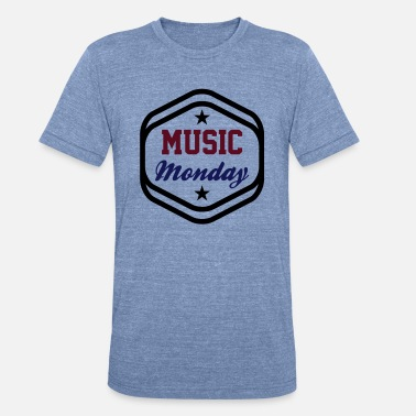 Partymode Music Monday - Unisex Tri-Blend T-Shirt