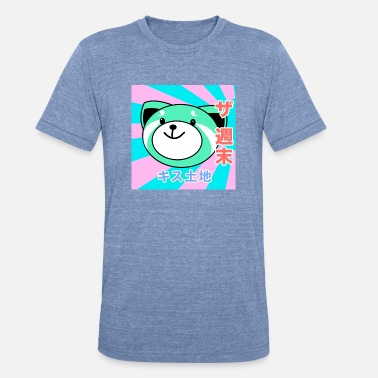Kiss Land Edit Oxcy The Weeknd - Unisex Tri-Blend T-Shirt
