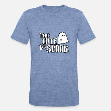 Spook Kids Too Cute to Spooke - Unisex Tri-Blend T-Shirt