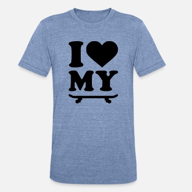 Board Meeting i love my board - Unisex Tri-Blend T-Shirt
