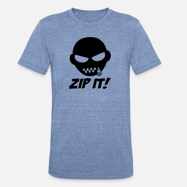 Science ZIP IT - Unisex Tri-Blend T-Shirt