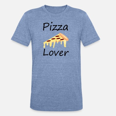 pizza lover - Unisex Tri-Blend T-Shirt