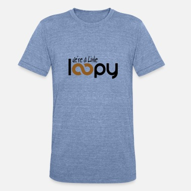 Loopy Mom Knitting Shirt Funny Knitter Gift Little Loopy - Unisex Tri-Blend T-Shirt
