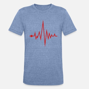 Frequency Frequency - Unisex Tri-Blend T-Shirt