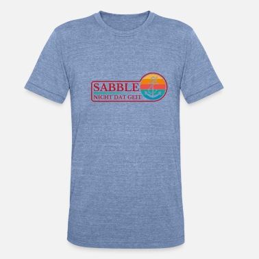 Seagull Don't sabotage north northern Germany - Unisex Tri-Blend T-Shirt