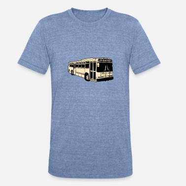 48 Quintara San Francisco Bus - Unisex Tri-Blend T-Shirt