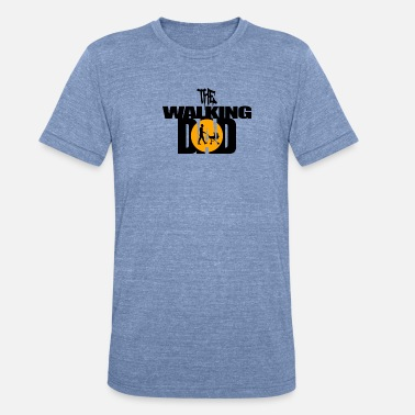 The walking Dad - Unisex Tri-Blend T-Shirt