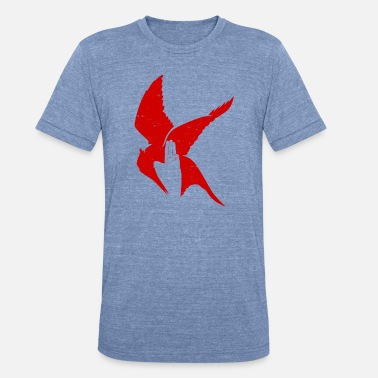 Hunger The hunger games fan - Mocking jay bird - Unisex Tri-Blend T-Shirt