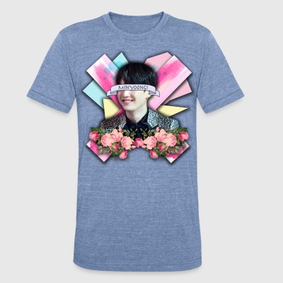Yoongi Graphic Design - Unisex Tri-Blend T-Shirt by American Apparel