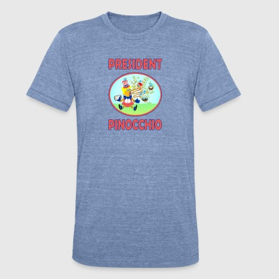 PRESPINOCCHIO - Unisex Tri-Blend T-Shirt by American Apparel
