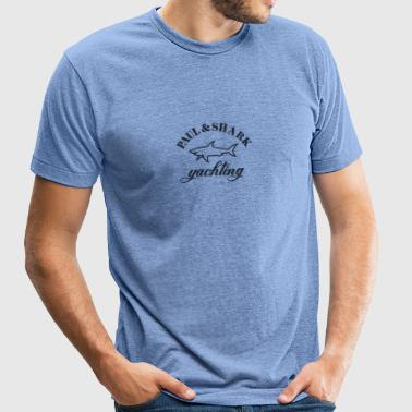shark - Unisex Tri-Blend T-Shirt by American Apparel