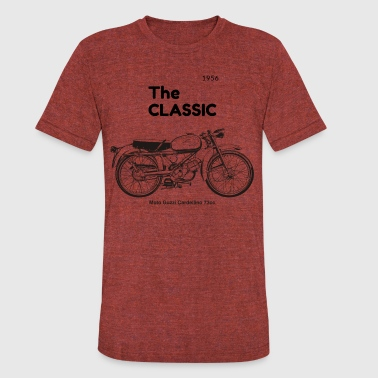 Vintage Italian Motorcycle Classic Motorcycles - Unisex Tri-Blend T-Shirt
