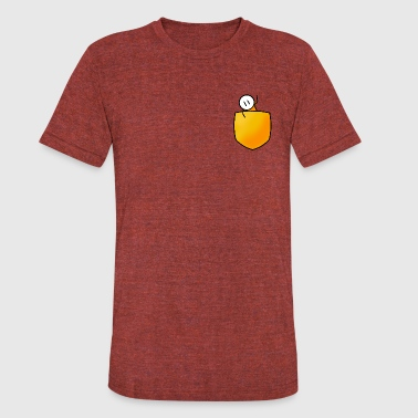 Pocket - Unisex Tri-Blend T-Shirt