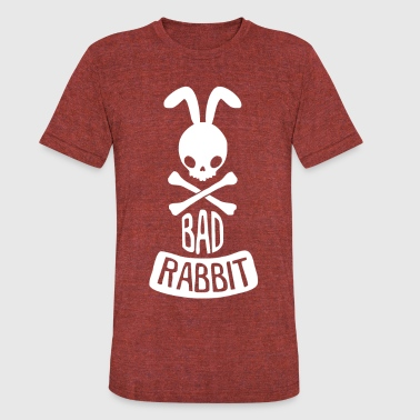 Bad Rabbit - Unisex Tri-Blend T-Shirt