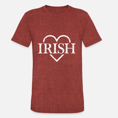 Where-is-the-love I love Ireland and everything Irish where ever - Unisex Tri-Blend T-Shirt