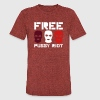 Free Pussy Riot - Unisex Tri-Blend T-Shirt