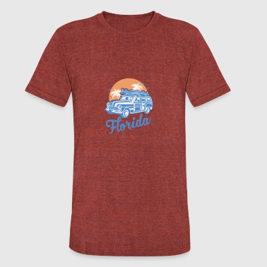 State of Florida - Unisex Tri-Blend T-Shirt
