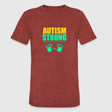 Autism Strong - Unisex Tri-Blend T-Shirt