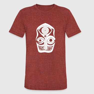 Eye Drawing ink drawing tattoo style third eye meditation - Unisex Tri-Blend T-Shirt