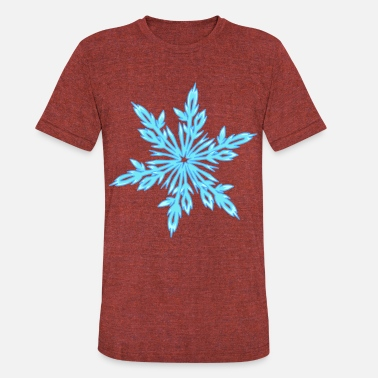 Ice Crystal ice crystal - Unisex Tri-Blend T-Shirt