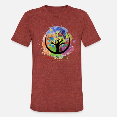 Alternative A Healthy Alternative Water color - Unisex Tri-Blend T-Shirt
