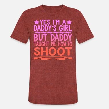 f285e6f24 ARCHERY FUNNY TEE - Daddy's Girl - Unisex Tri-Blend T