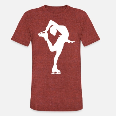 Figure Of Speech Figure Skating - Unisex Tri-Blend T-Shirt