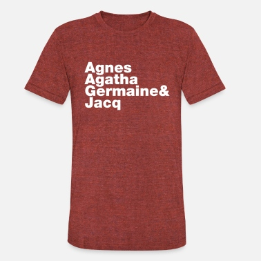 Agnes Just A Friend - Unisex Tri-Blend T-Shirt