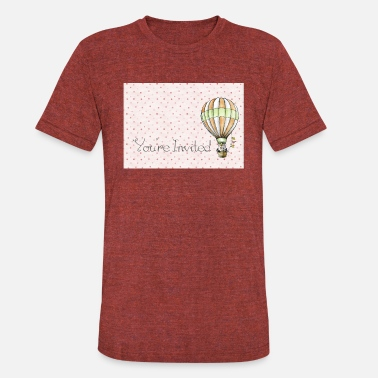 Invitation invitation - Unisex Tri-Blend T-Shirt