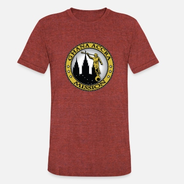 Accra Ghana Accra Mission - LDS Mission Classic Seal - Unisex Tri-Blend T-Shirt