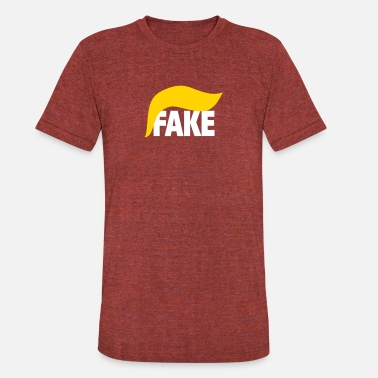 Fake Band Fake - Unisex Tri-Blend T-Shirt