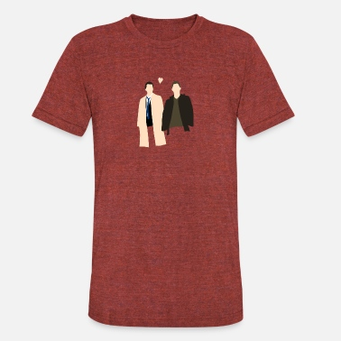 Destiel Destiel Is Real - Unisex Tri-Blend T-Shirt