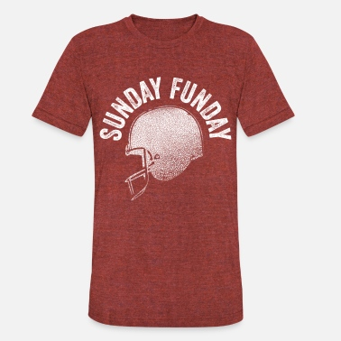 Football Sunday Funday - Unisex Tri-Blend T-Shirt