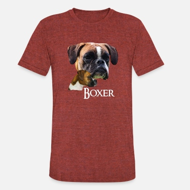boxer dog walking heart beat or be aware of the owner t shirt