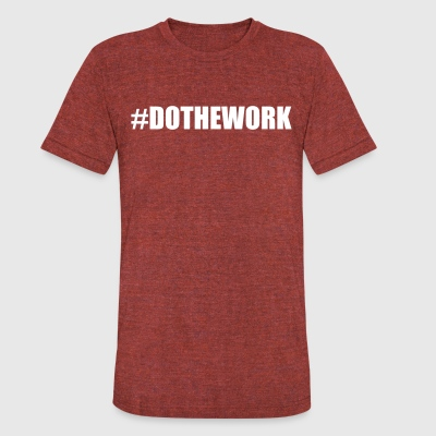 DOTHEWORK TEE - Unisex Tri-Blend T-Shirt by American Apparel