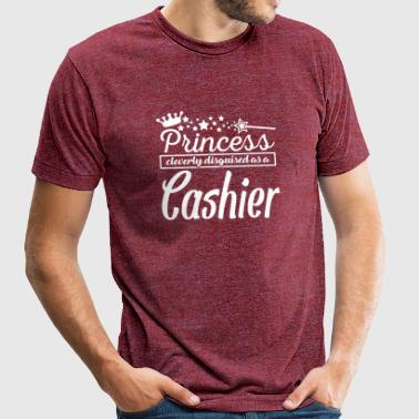 Cashier - Unisex Tri-Blend T-Shirt by American Apparel
