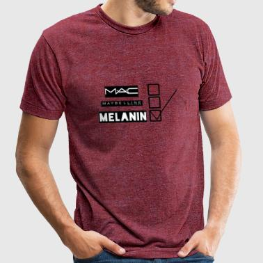 MELANIN - Unisex Tri-Blend T-Shirt by American Apparel