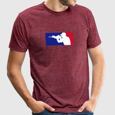 Major League Operator - Unisex Tri-Blend T-Shirt by American Apparel