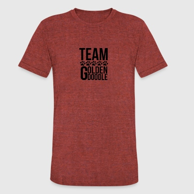 Team Goldendoodle - Unisex Tri-Blend T-Shirt by American Apparel
