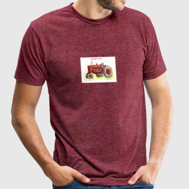 Farmall For Life - Unisex Tri-Blend T-Shirt by American Apparel