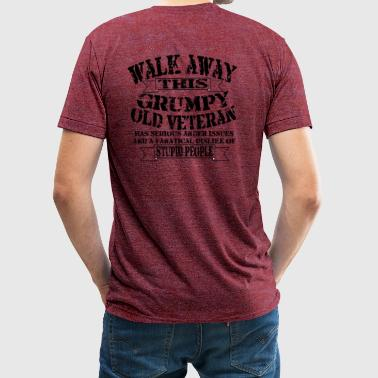 Grumpy Old Veteran - Unisex Tri-Blend T-Shirt by American Apparel
