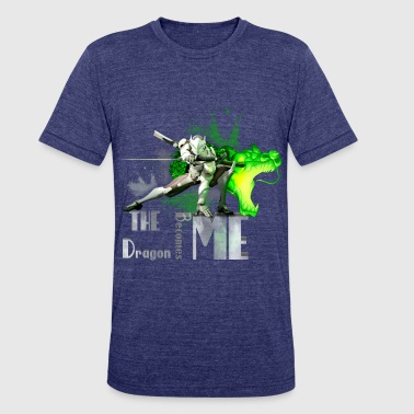 Slash Kids Overwatch: Genji - Unisex Tri-Blend T-Shirt