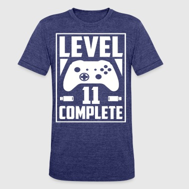 Level 11 Complete - Unisex Tri-Blend T-Shirt