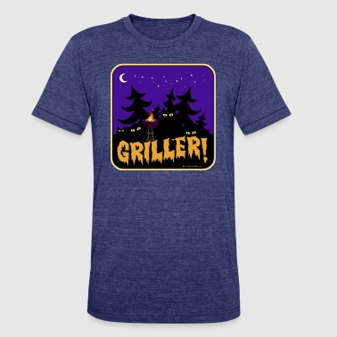 Beware the Griller! - Unisex Tri-Blend T-Shirt
