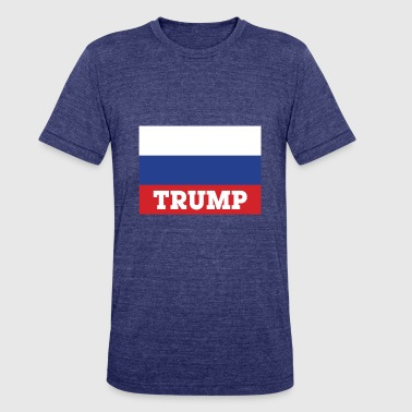 Trump Flag Trump Flag - Unisex Tri-Blend T-Shirt