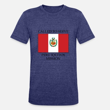 Peru Peru Iquitos Mission LDS Mission Called to Serve - Unisex Tri-Blend T-Shirt