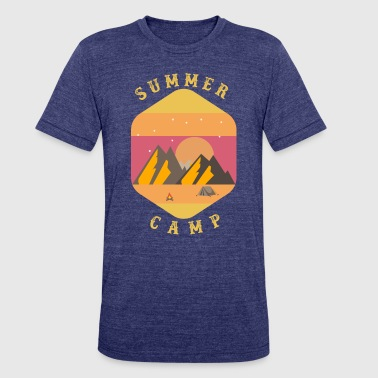 summer camp 2018 - Unisex Tri-Blend T-Shirt